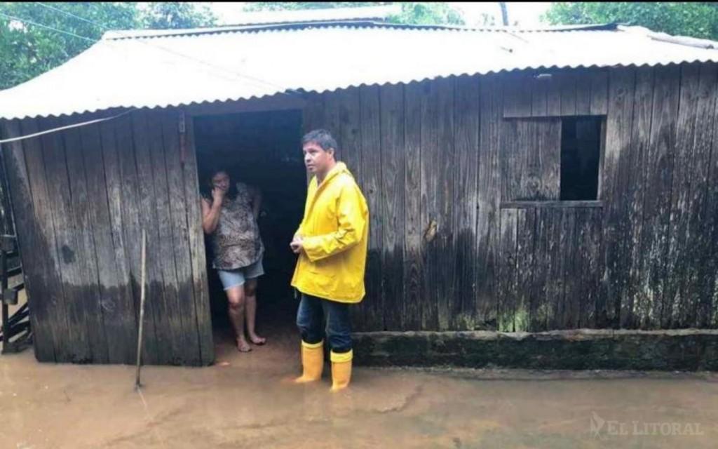 Ascendieron a 2500 las personas evacuadas en la provincia