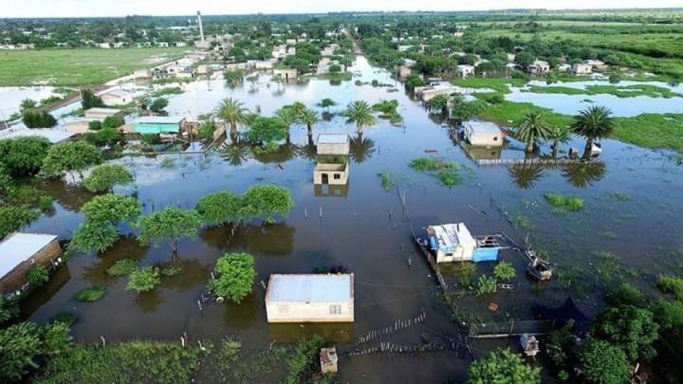 La inundación en el NEA suma más de 3.000 evacuados y pérdidas de cultivos