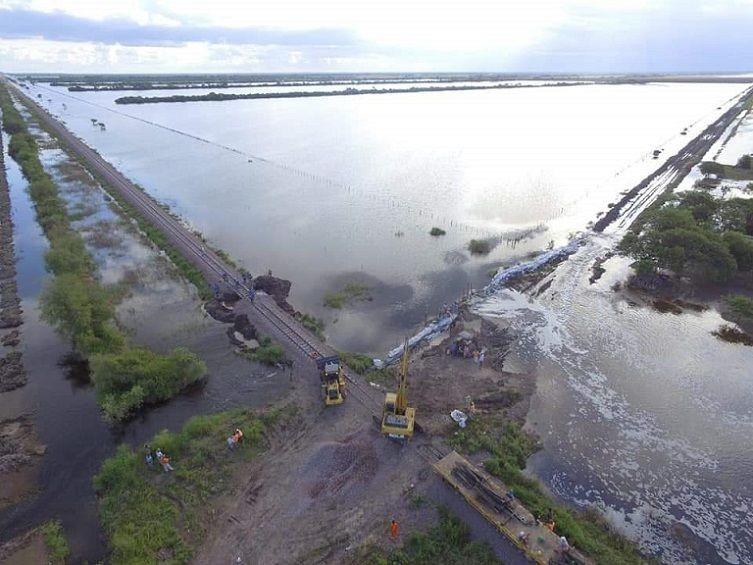 Pedido para declarar en emergencia a localidades del Litoral por inundaciones