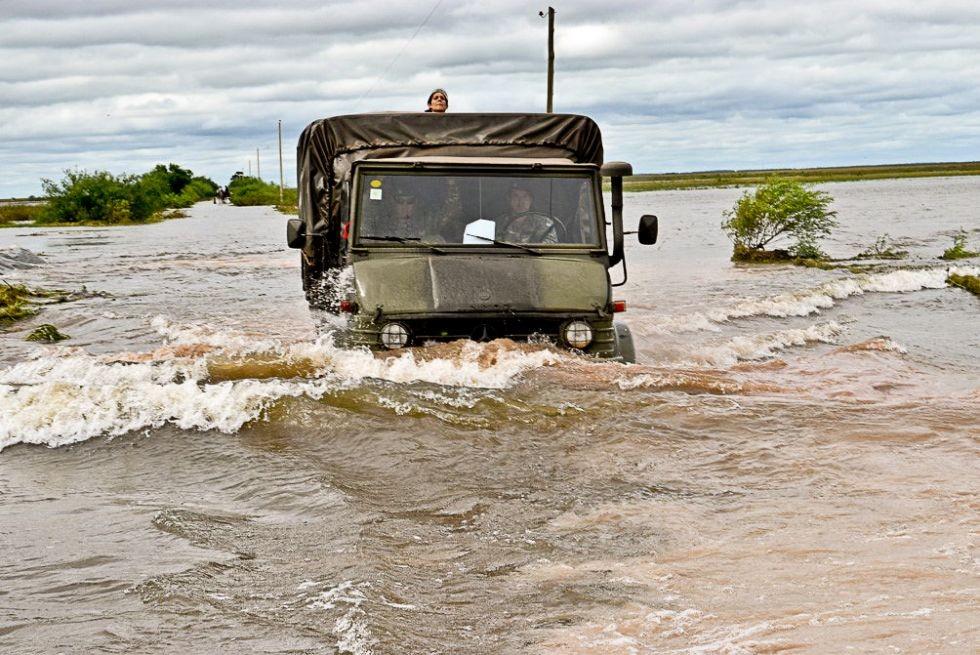 Perugorría: habilitaron más centros de ayuda y llegó asistencia oficial