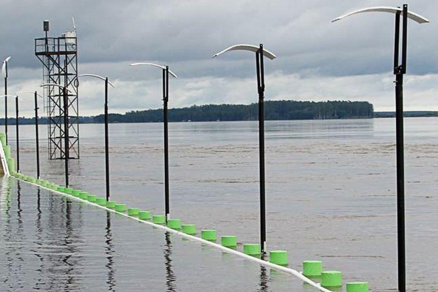 Inminente evacuación en Paso de los Libres por la crecida del río Uruguay
