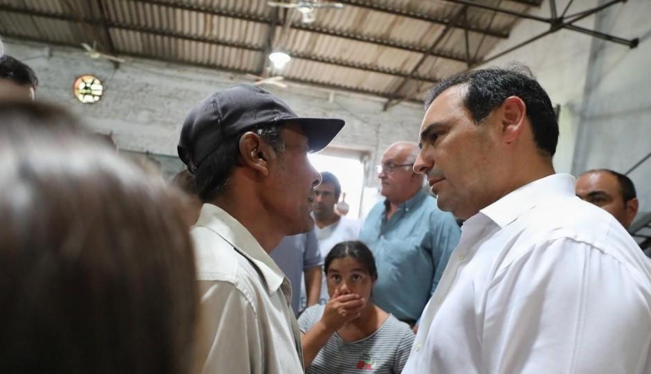 Valdés recorrerá este viernes el suroeste provincial afectado por nuevas lluvias