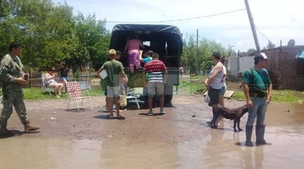 En Chaco todavía quedan 1.600 personas evacuadas
