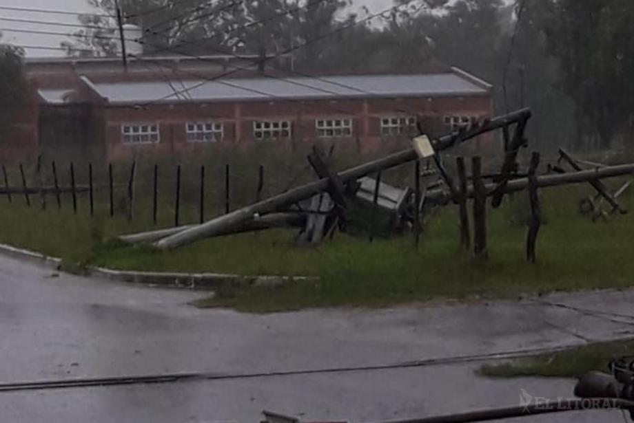 Numerosos daños en el interior por un nuevo temporal