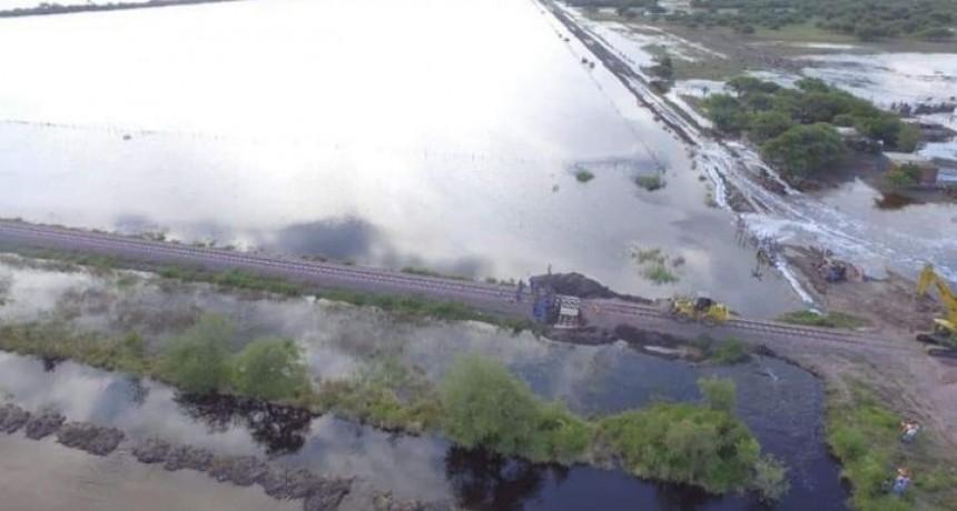 El Intendente de Bonpland ratificó advertencia sobre posible desborde de represa arrocera