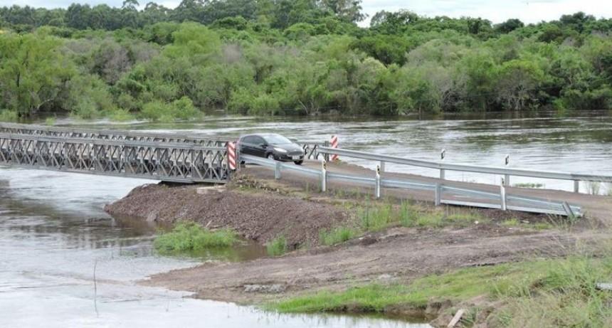 La costa del río Uruguay está en alerta y ya hay 1.300 vecinos evacuados