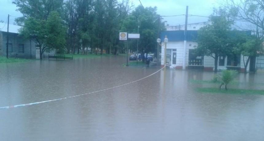 Norte de Santa Fe: el 80% de Villa Minetti quedó bajo agua