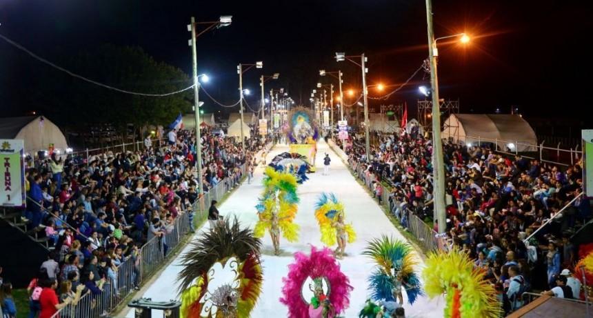 El interior ya le da rienda suelta al carnaval