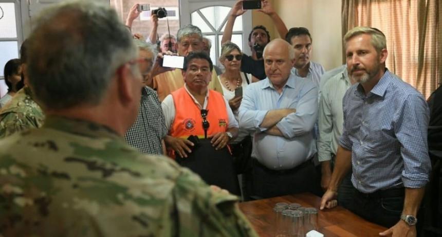 Inundaciones: Nación declarará la emergencia hidrica en zonas afectadas