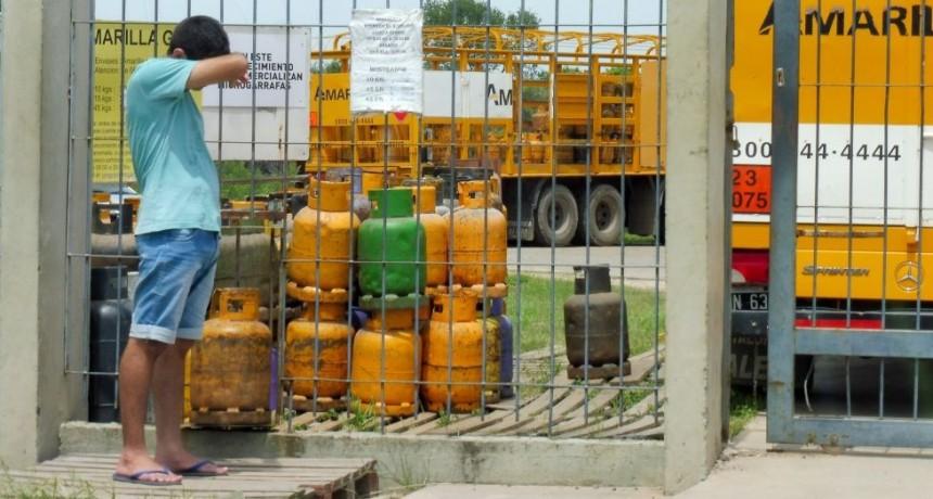 Precio de las garrafas de gas está entre $100 y $200 más de lo que debería