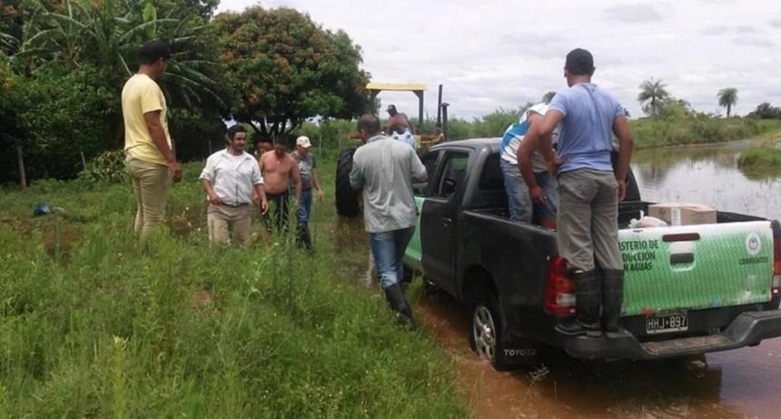 Funcionarán puntos regionales para facilitar el trámite de productores en emergencia