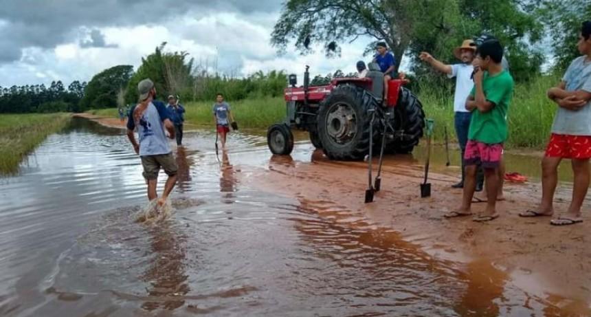 Después de la inundación aún quedan 600 mil hectáreas con agua en Corrientes