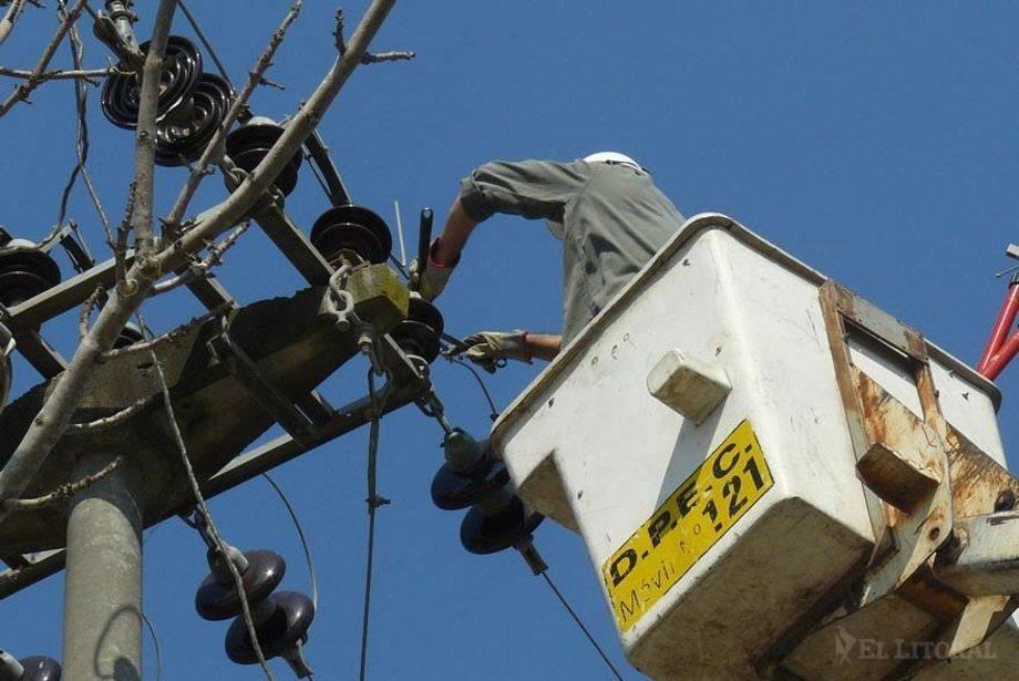 Por el intenso calor ayer se batió dos veces el récord de demanda energética provincial