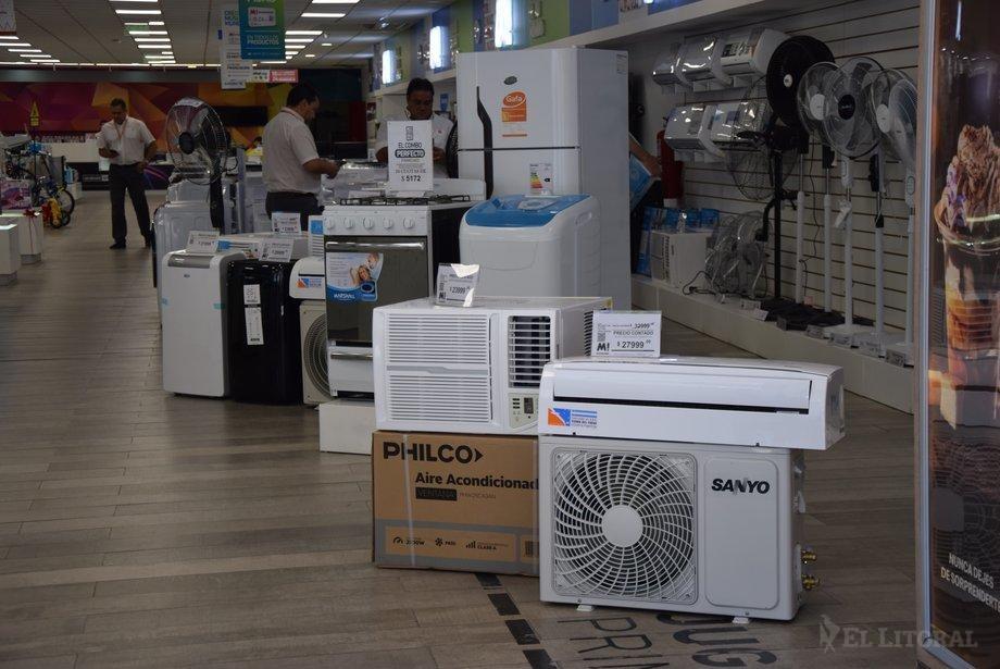 En este enero caluroso crece la venta de aires por las rebajas