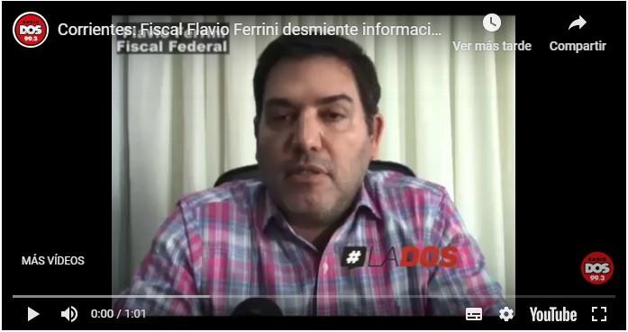 Corrientes: Fiscal Federal desmintió el operativo en contra de Gustavo Valdés
