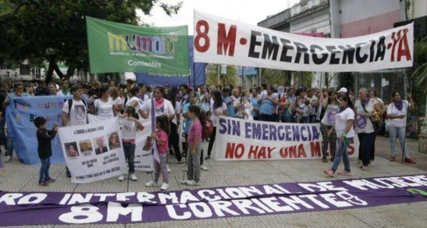 En el país ya hubo al menos siete femicidios y uno sucedió en Corrientes