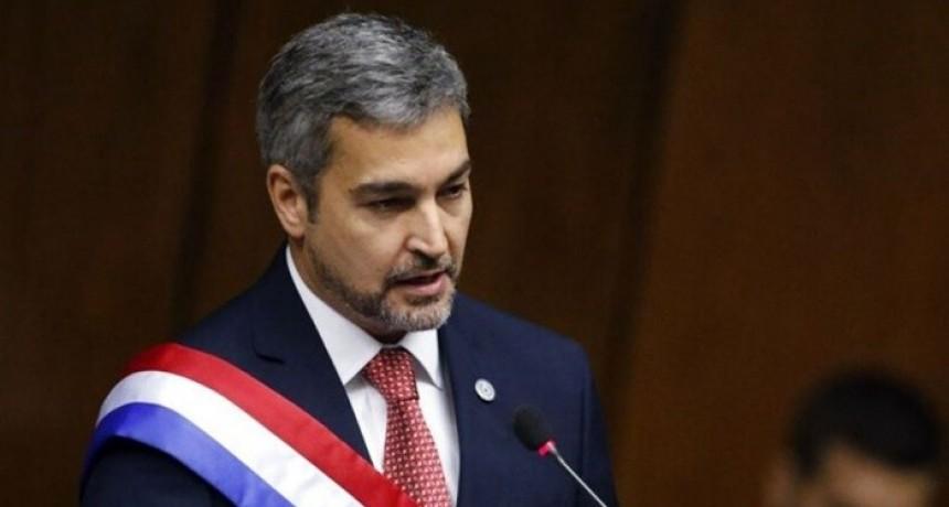 Epidemia: confirmaron que el presidente de Paraguay tiene dengue