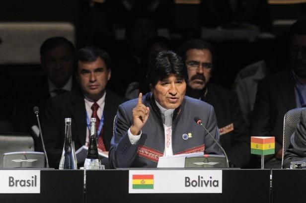 """Morales no se presta al """"chantaje"""" de Chile"""