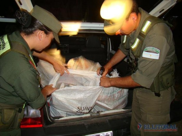 Corrientes: incautan más de 150 kilos de marihuana