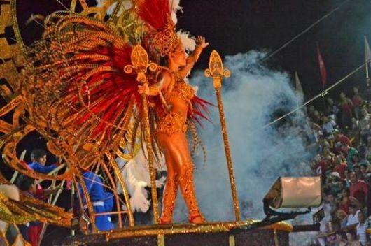 Carumbé, la campeona en la Cuna del Carnaval