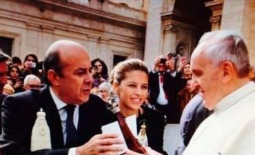 En persona, el vicegobernador Canteros invitó al Papa a visitar Corrientes en 2016