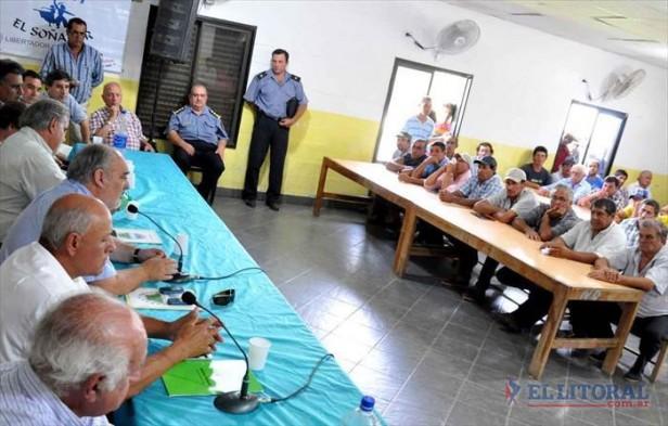 Colombi ratificó asistencia a damnificados por las inundaciones y anunció varias obras