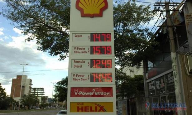 Combustibles: nueva suba de precios acerca los valores a los del año pasado
