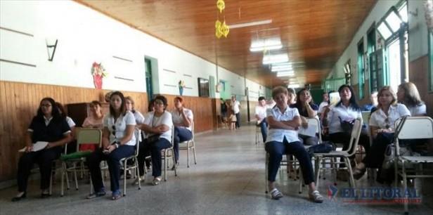 Docentes y equipos de áreas regresaron a las escuelas de cara al inicio de clases