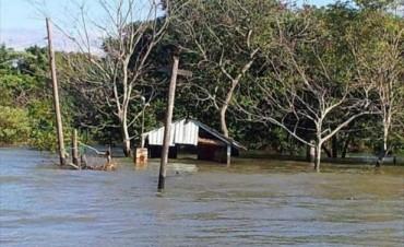 Ante la falta de defensas, en Apipé ruegan que en junio no se repitan las inundaciones
