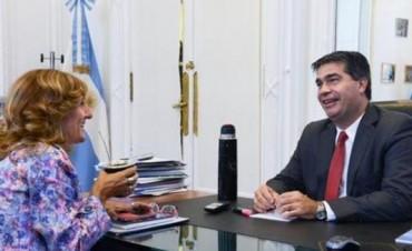 Capitanich se comprometió a apoyar las inversiones de infraestructura en la Unne