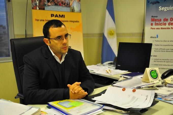 Lucio Cornejo dejó ayer la Gerencia del PAMI local