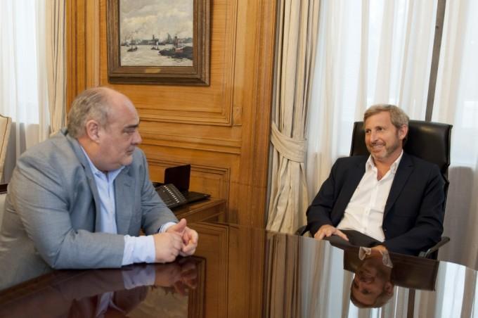 Tras el reclamo del 15% Colombi visita hoy al Ministro del Interior