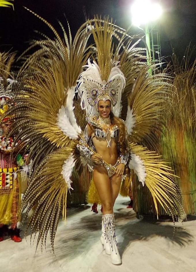Agostina Liotti y Juan José Luque los soberanos del Carnaval 2016