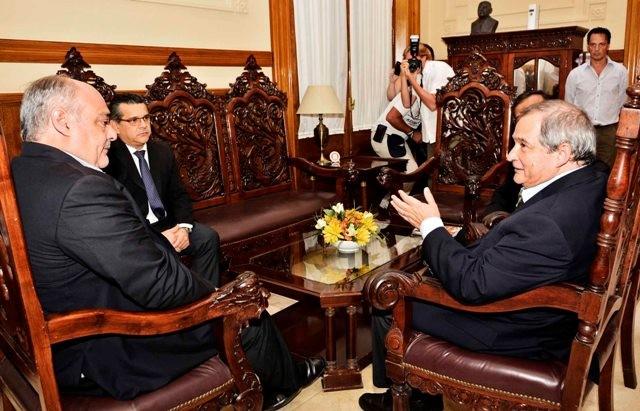 Colombi recibió al Ministro de Salud de la Nación