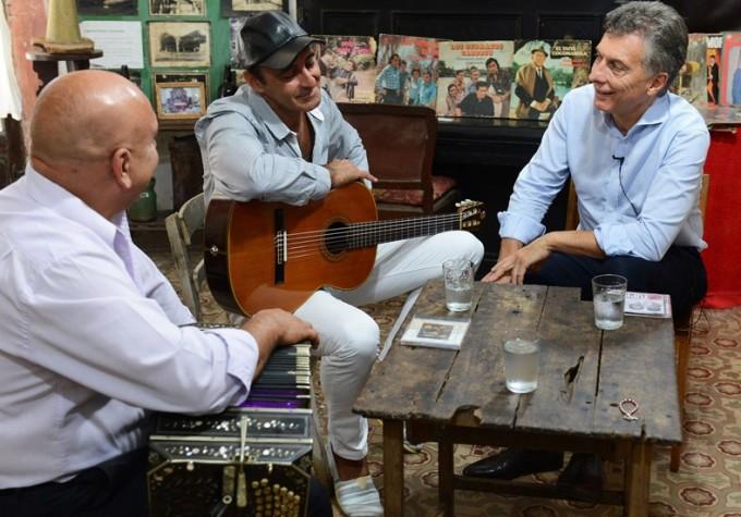 Guiño al chamamé y la cultura de Corrientes