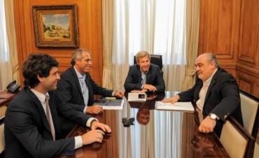 Colombi y Frigerio acordaron que el Gabinete se reúna en Corrientes
