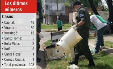 Dengue: Corrientes tiene 103 casos y buscan reducir el índice vectorial
