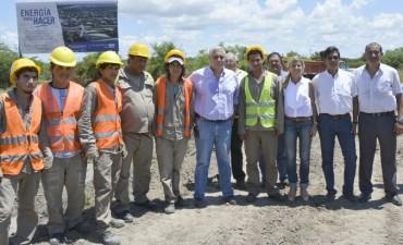 Ríos anunció obras por más de $28 millones para Santa Catalina