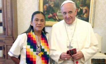 Una prisionera con la bendición papal