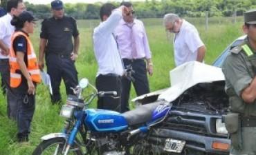 Tres motociclistas perdieron la vida en siniestros viales en el interior