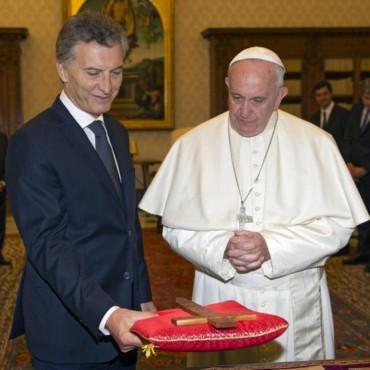 Francisco recibió a Macri y el chamamé fue protagonista