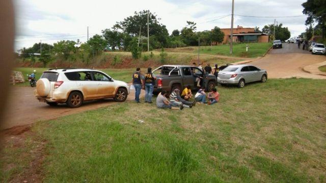 Narcoregión: 7 mil kilos de drogas y 7 detenidos en tiroteo con la Policía Federal