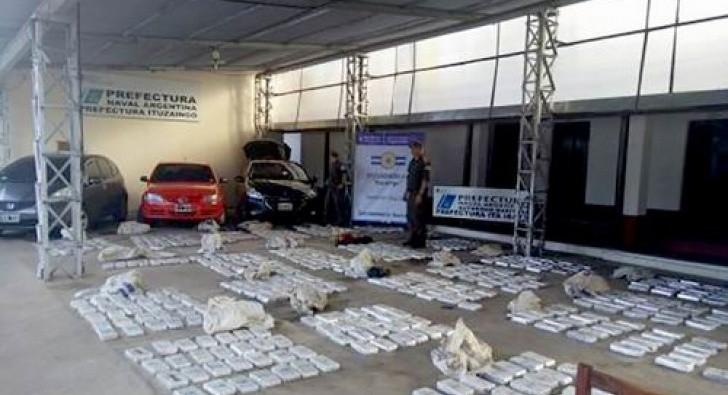 Detuvieron al hermano del Viceintendente y a la hermana de una concejal itateños con droga