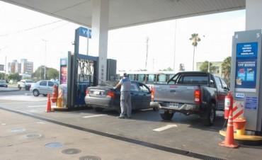 Se siente la baja en la demanda del combustible