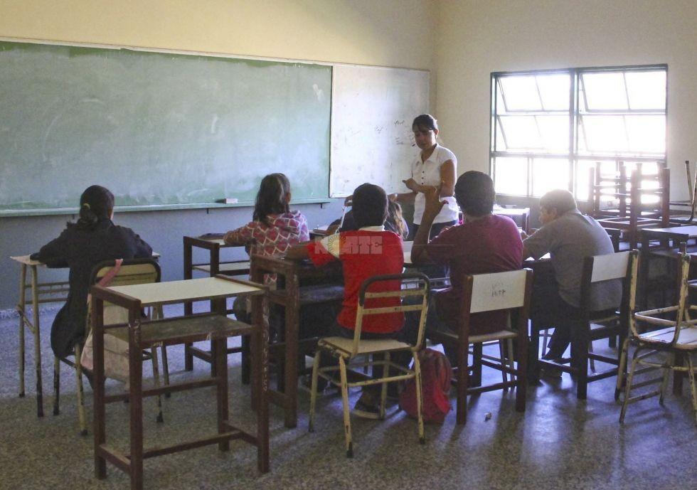 El 20% de docentes secundarios ejerce sin el título habilitante
