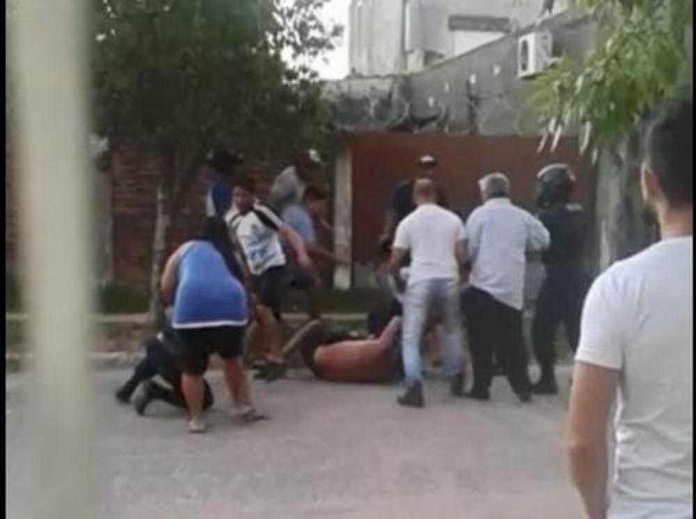 Goya: policías agredidos luego de un siniestro vial