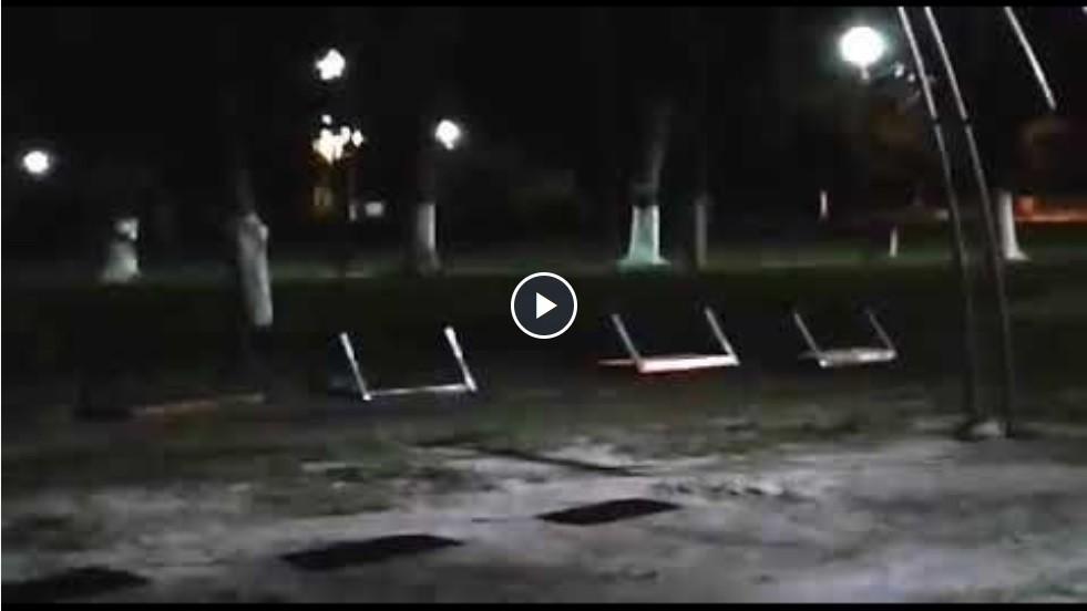 Fenómenos paranormales: Una hamaca que se mueve y un joven que desapareció frente a un cementerio