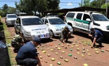 Santo Tomé: incautaron más de 16 kilos de marihuana ocultos en un tanque de combustible