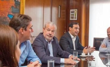 Valdés con Macri: guiño nacional para obras hídricas y de infraestructura vial