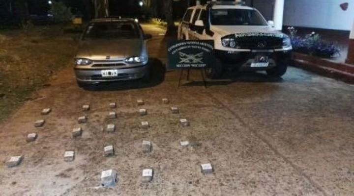 Santo Tomé: una pareja fue detenida con más de 14 kilos de marihuana